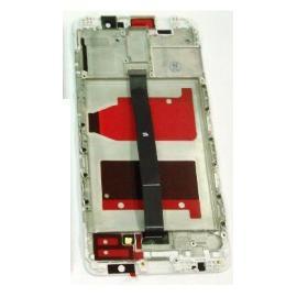 PANTALLA LCD DISPLAY + TACTIL CON MARCO PARA HUAWEI MATE 9 - BLANCA