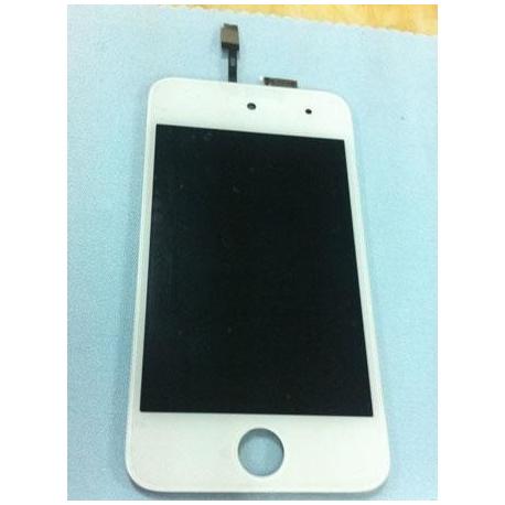 pantalla lcd + tactil + cristal para ipod 4G  todo asemblado completo