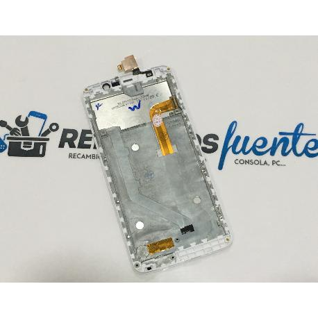 PANTALLA LCD DISPLAY + TACTIL CON MARCO PARA ZOPO ZP550 SPEED 7 C - BLANCA