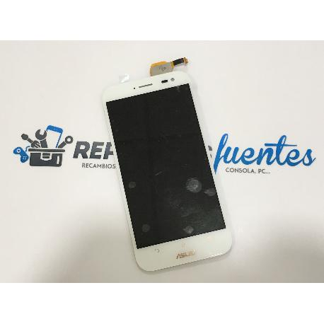 PANTALLA TACTIL + LCD DISPLAY PARA ASUS ZENFONE ZOOM (ZX551ML) - BLANCA