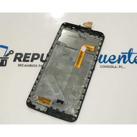 PANTALLA LCD DISPLAY + TACTIL CON MARCO PARA ZOPO ZP550 SPEED 7 C - NEGRA