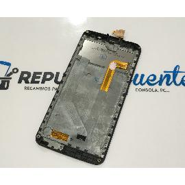 PANTALLA LCD DISPLAY + TACTIL CON MARCO PARA ZOPO ZP550 SPEED 7 C - NEGRA