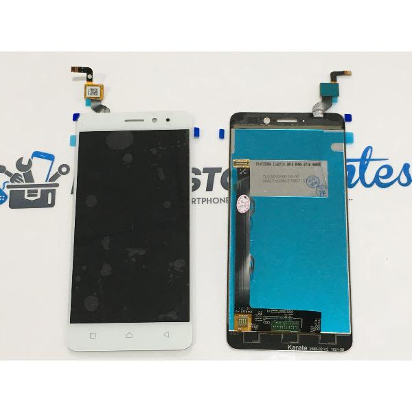 PANTALLA LCD DISPLAY + TACTIL PARA LENOVO K6 - BLANCO