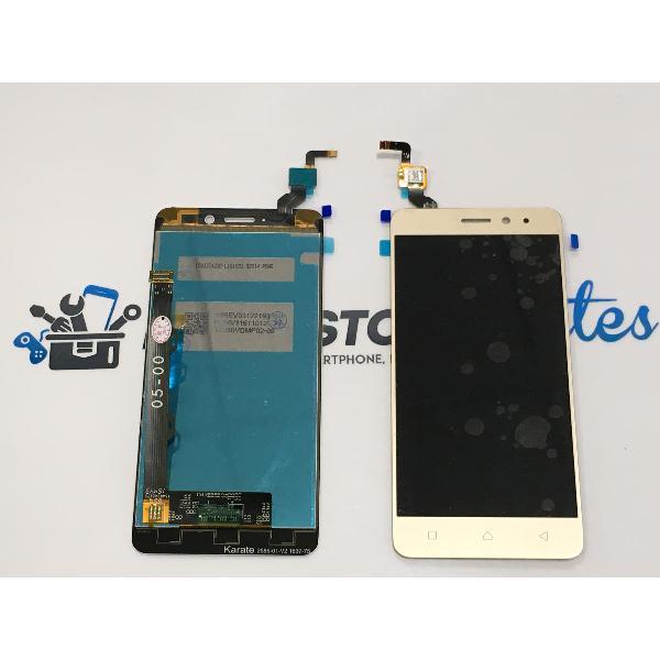 PANTALLA LCD DISPLAY + TACTIL PARA LENOVO K6 - ORO