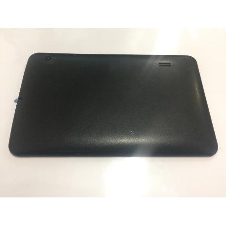 TAPA TRASERA ORIGINAL TABLET SUNSTECH TAB917QC NEGRA - RECUPERADA