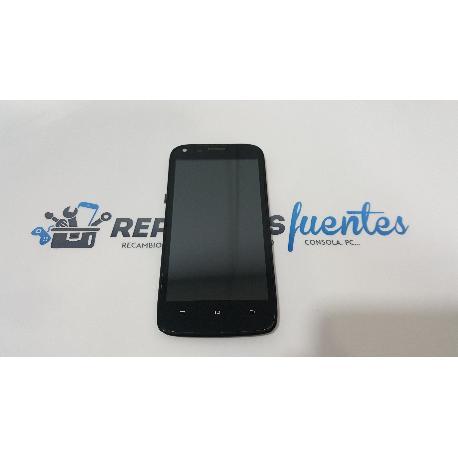 PANTALLA LCD DISPLAY + TACTIL CON MARCO ORIGINAL PARA GIGATEL CAPTURE G47 QHD - RECUPERADA