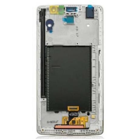 PANTALLA LCD DISPLAY + TACTIL CON MARCO GRIS PARA LG G STYLO LS770 - NEGRA