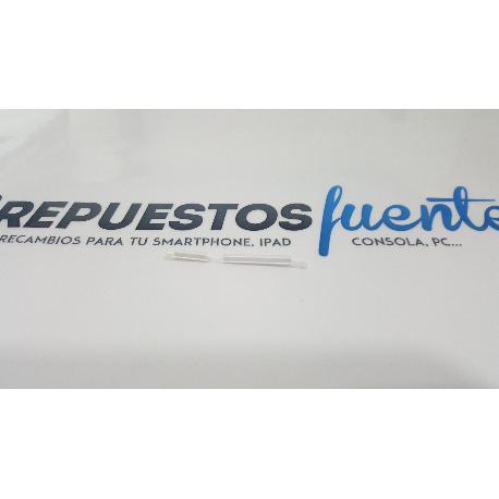 BOTONES DE CARCASA ORIGINAL PARA HISENSE HS-L691 BLANCO - RECUPERADO
