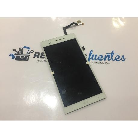 PANTALLA LCD + TACTIL ORIGINAL SZENIO SYRENI 62FHD , ULEFONE U600 P6 BLANCA - RECUPERADA