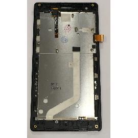 PANTALLA LCD DISPLAY + TACTIL CON MARCO PARA XIAOMI REDMI 1S 4G - NEGRA