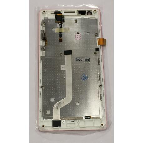 PANTALLA LCD DISPLAY + TACTIL CON MARCO PARA XIAOMI REDMI 1S VERSION 3G - ROSA