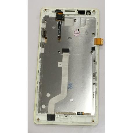 PANTALLA LCD DISPLAY + TACTIL CON MARCO PARA XIAOMI REDMI 1S VERSION 3G - AMARILLA