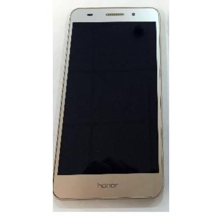 PANTALLA TACTIL + LCD DISPLAY CON MARCO PARA HUAWEI HONOR 5A (5.5), 5A L21 / Y6 II 2016 CAM-L21 - ORO