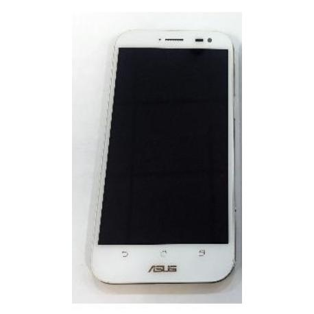 PANTALLA TACTIL + LCD DISPLAY CON MARCO PARA ASUS ZENFONE ZOOM (ZX551ML) - BLANCO
