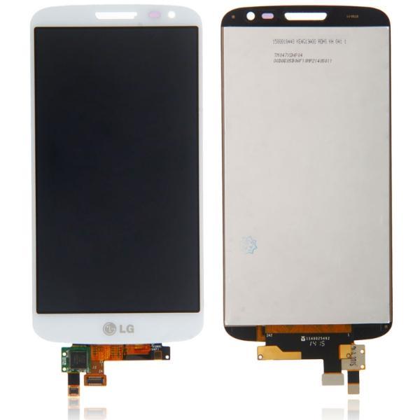 PANTALLA LCD DISPLAY + TACTIL TOUCH ORIGINAL LG G2 MINI D620 BLANCA - RECUPERADA