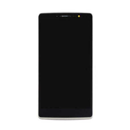 PANTALLA LCD DISPLAY + TACTIL CON MARCO ORIGINAL LG G4 STYLUS H635 NEGRA - RECUPERADA