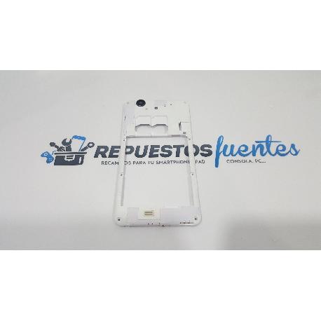 CARCASA INTERMEDIA HISENSE HS-U966 BLANCA - RECUPERADA