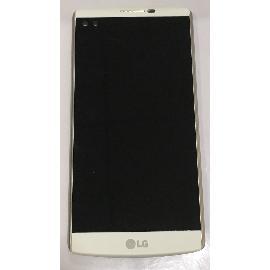 PANTALLA LCD DISPLAY + TACTIL CON MARCO PARA LG V10 - BLANCA