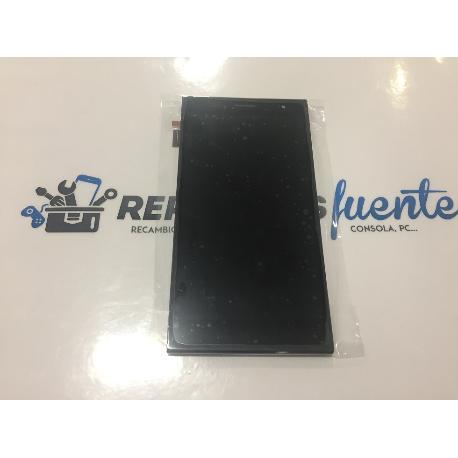 PANTALLA LCD DISPLAY + TACTIL TOUCH CON MARCO ORIGINAL HISENSE HS-U988 NEGRA - RECUPERADA