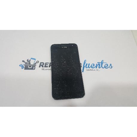 PANTALLA LCD DISPLAY + TACTIL CON MARCO ORIGINAL PARA HUAWEI ASCEND G7 NEGRA - RECUPERADA
