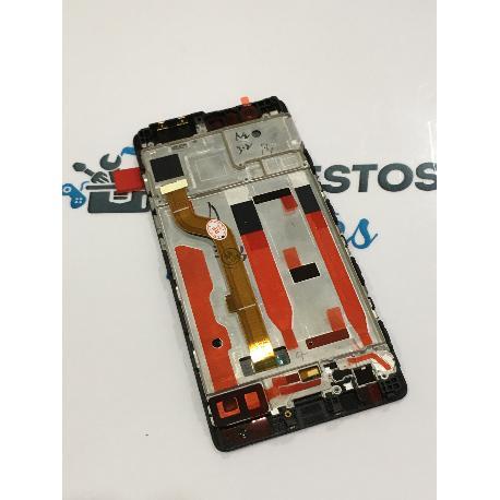 PANTALLA LCD DISPLAY + TACTIL CON MARCO PARA HUAWEI P9 NEGRA - RECUPERADA