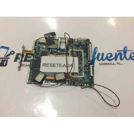 PLACA BASE ORIGINAL SUNSTECH TAB87QCBT - RECUPERADA