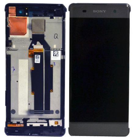 PANTALLA LCD DISPLAY + TACTIL PARA SONY XPERIA XA - NEGRA