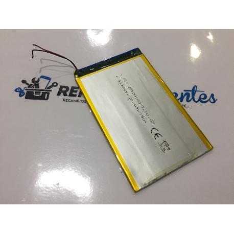 BATERIA (10X16CM) ORIGINAL TABLET SUNSTECH TAB105QCBTK  - RECUPERADA