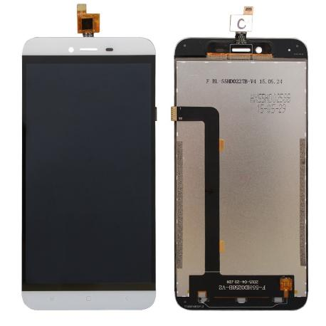 REPUESTO PANTALLA LCD DISPLAY + TACTIL TOUCH CUBOT X10 - BLANCA