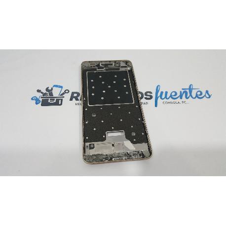 MARCO FRONTAL DE LCD ORIGINAL PARA HUAWEI Y6 II CAM-L21 , HONOR 5A (5.5) ORO - RECUPERADO