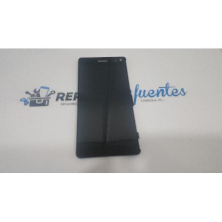 PANTALLA TACTIL + LCD CON MARCO ORIGINAL SONY XPERIA C5 ULTRA E5506 E5553 ULTRA DUAL E5533 E5563 NEGRA - RECUPERADA