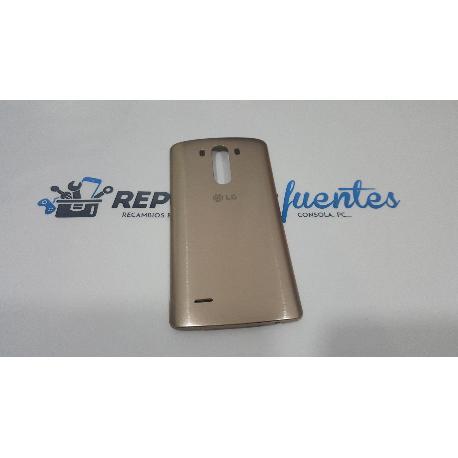 CARCASA TAPA TRASERA ORIGINAL LG G3 D855 CON NFC ORO - RECUPERADA