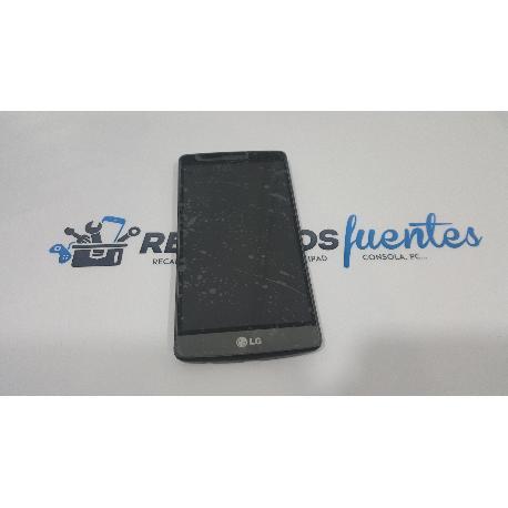 PANTALLA LCD DISPLAY + TACTIL CON MARCO PARA LG G3 MINI D722 NEGRA - RECUPERADA