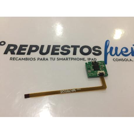 FLEX MODULO JACK DE AUDIO ORIGINAL SPC INTERNET GLOW 8 QUAD CORE VERSION 2.1 - RECUPERADO