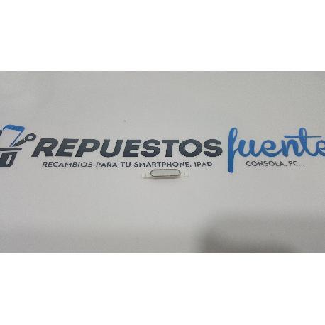 BOTON HOME DE CARCASA ORIGINAL PARA LG D160 L40 BLANCO - RECUPERADO