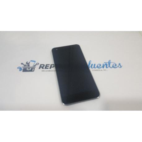 PANTALLA TACTIL + LCD DISPLAY CON MARCO PARA VODAFONE SMART ULTRA 6 VF995 VF995N NEGRA - RECUPERADA