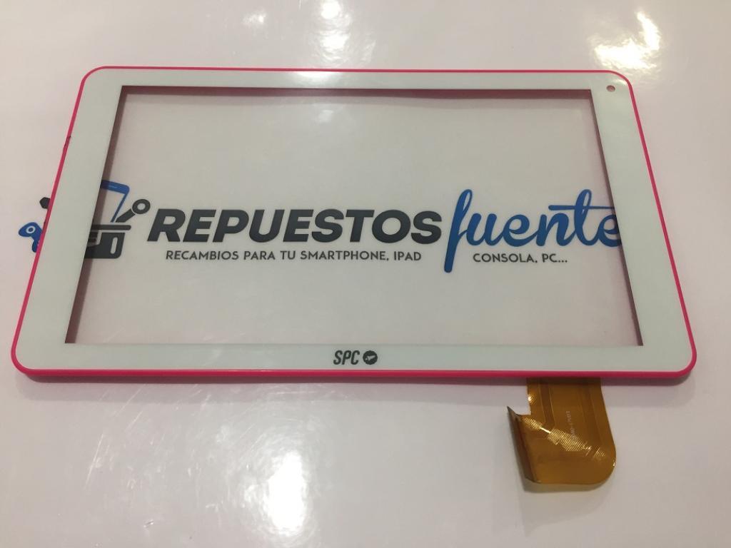 Pantalla Tactil con Marco Rosa Original SPC Glee 9 Quad core ...