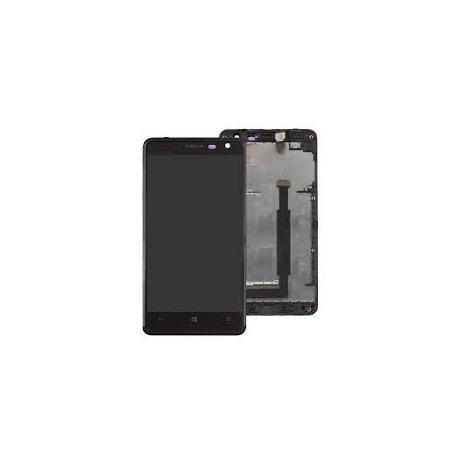 PANTALLA LCD + TACTIL CON MARCO NOKIA LUMIA 625 NEGRA