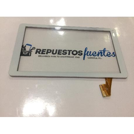"PANTALLA TACTIL CON MARCO ORIGINAL WOLDER MITAB COLORS 10.1"" - RECUPERADA"