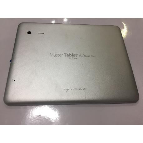 TAPA TRASERA ORIGINAL MASTER TABLET 9.7 8GB QUAD CORE - RECUPERADA