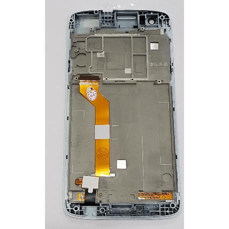 PANTALLA LCD DISPLAY + TACTIL CON MARCO PARA HTC DESIRE 828 - BLANCA
