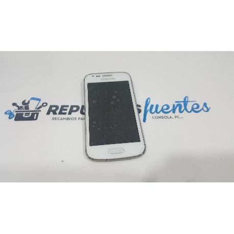 PANTALLA LCD DISPLAY + TACTIL CON MARCO PARA SAMSUNG GALAXY ACE 3 S7275R - BLANCA / DESMONTAJE