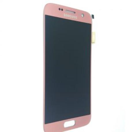 PANTALLA LCD DISPLAY + TACTIL ORIGINAL PARA SAMSUNG GALAXY S7 SM-G930F - ROSA