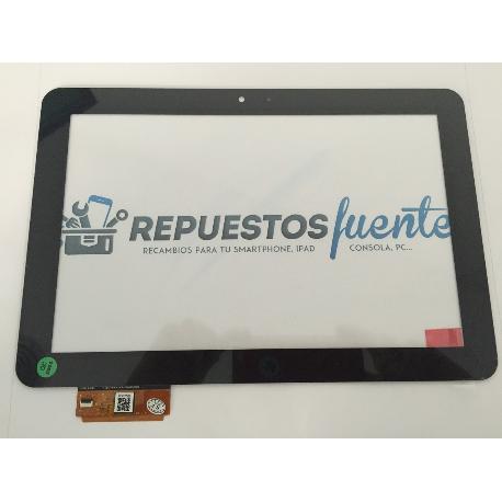 REPUESTO DE PANTALLA TACTIL ORIGINAL PARA TABLET BQ EDISON 1, 2 Y 3 - NEGRA USADA