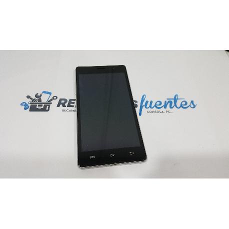 PANTALLA LCD DISPLAY + TACTIL CON MARCO ORIGINAL PRIMUX OMEGA 5 - RECUPERADA