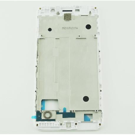 CARCASA FRONTAL DE LCD PARA HUAWEI Y6 PRO - BLANCA