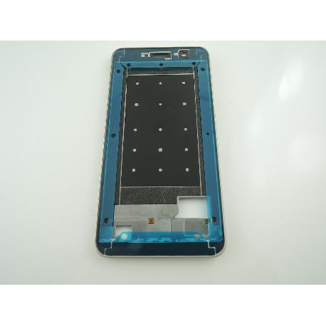 CARCASA FRONTAL DE LCD PARA HUAWEI Y6 PRO - ORO