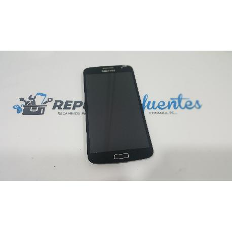 PANTALLA LCD + TACTIL CON MARCO ORIGINAL SAMSUNG GALAXY GRAND 2 G7102 G7105 NEGRA - RECUPERADA