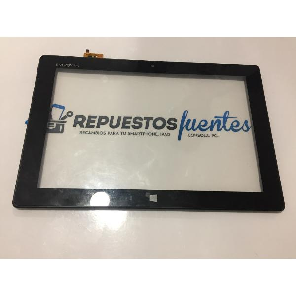 PANTALLA TACTIL CON MARCO ORIGINAL ENERGY SISTEM TABLET PRO 10 WINDOWS - RECUPERADA