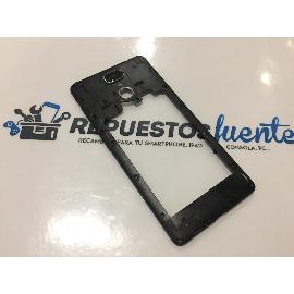 CARCASA INTERMEDIA ORIGINAL LEOTEC TITANIUM PRINT 4G LTE - RECUPERADA